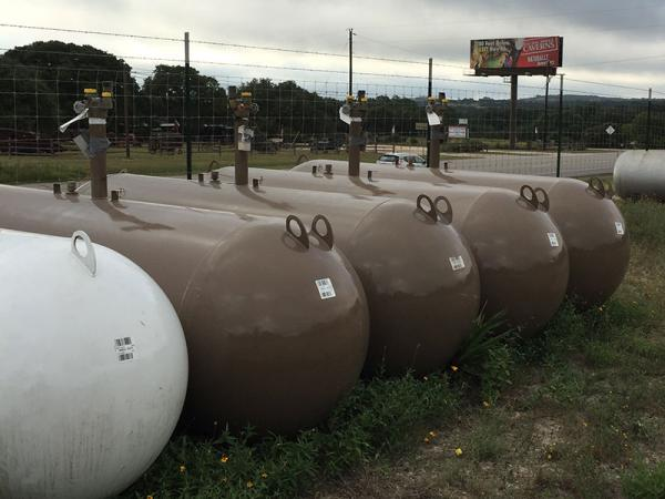 500 gal. In-Ground Propane Tank
