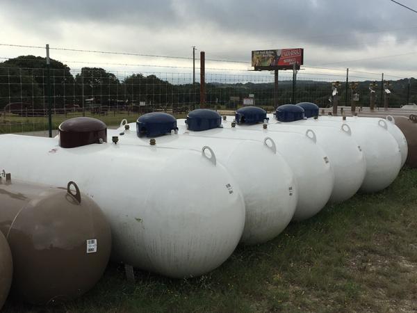 500 gal. Propane Tank