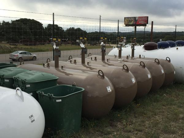 250 gal. In-Ground Propane Tank