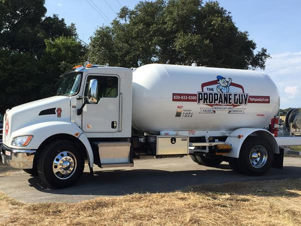 The Propane Guy Delivery Truck