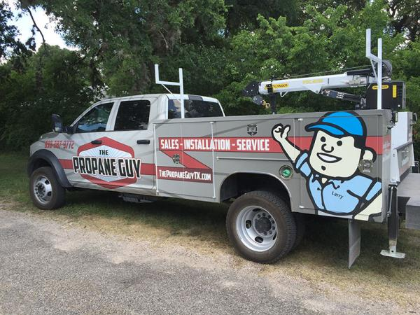 The Propane Guy Service Truck