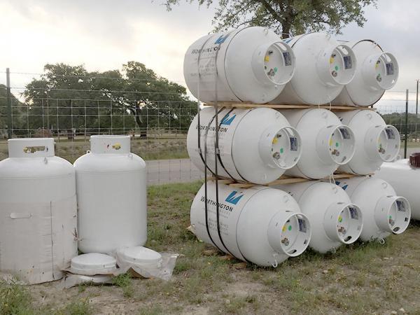 420 lb. Propane Cylinder
