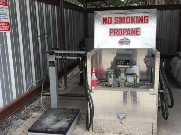 Propane Tank Refill Station