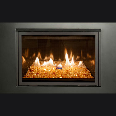 Real Fyre gas fire place products direct vent insert collection